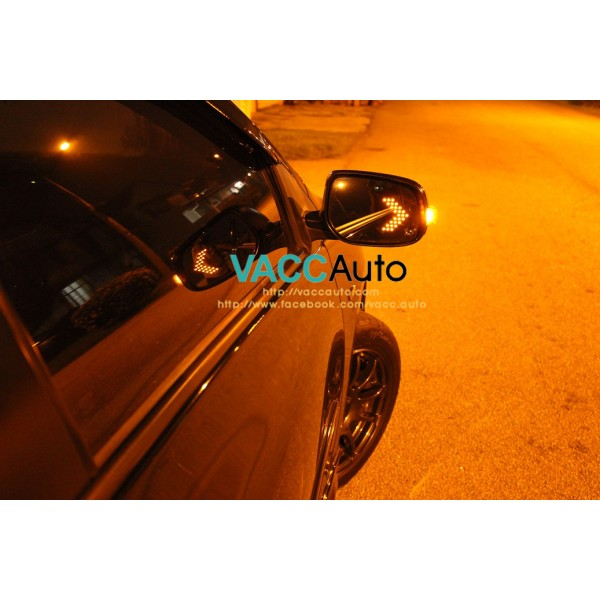 BR-V / BRV (1st Gen) Blue Mirror with LED Signal L...