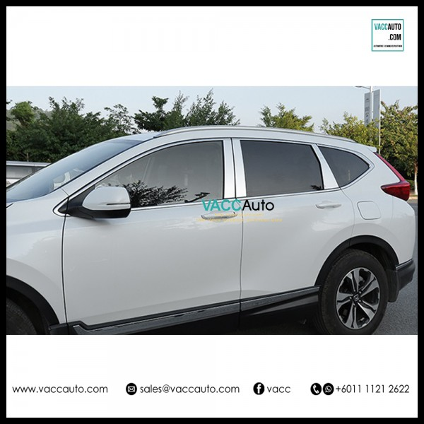CR-V / CRV (5th Gen) Door Pillar Chrome