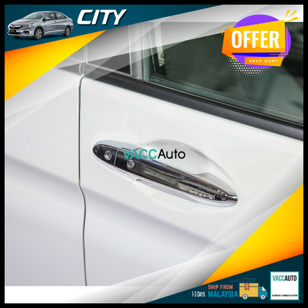 City (6th Gen) Chrome Handle
