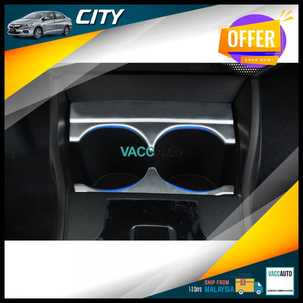 City (6th Gen) Cup Holder Silver Lining