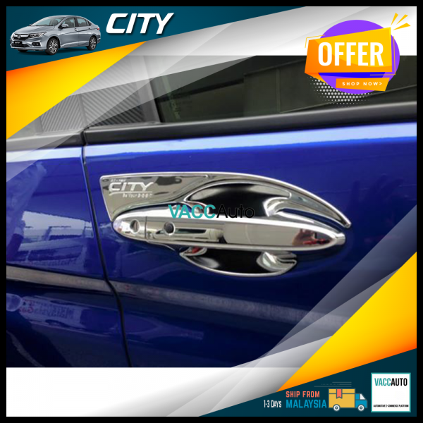City (6th Gen) Outer Chrome Handle
