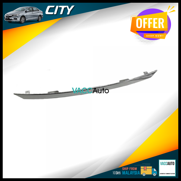 City (6th Gen) Rear Chrome Bar