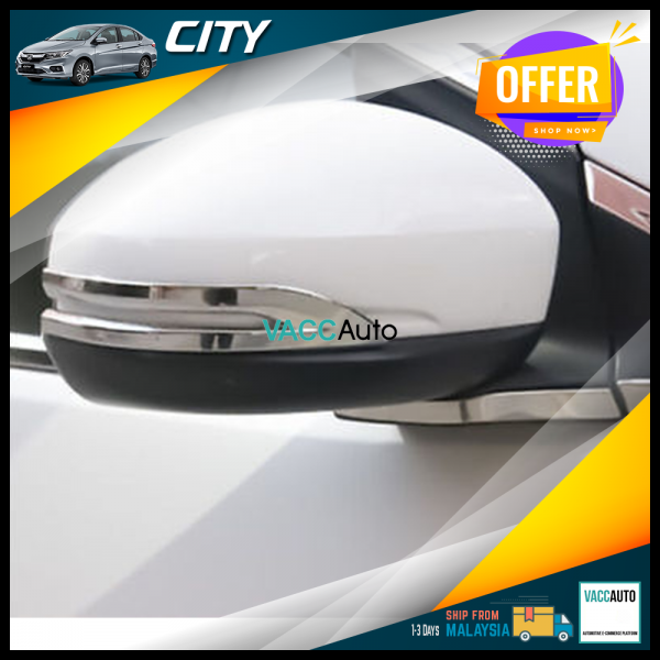 City (6th Gen) Side Mirror Chrome Lining