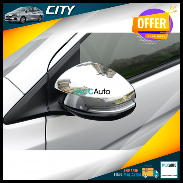 City (6th Gen) Side Mirror Chrome Cover