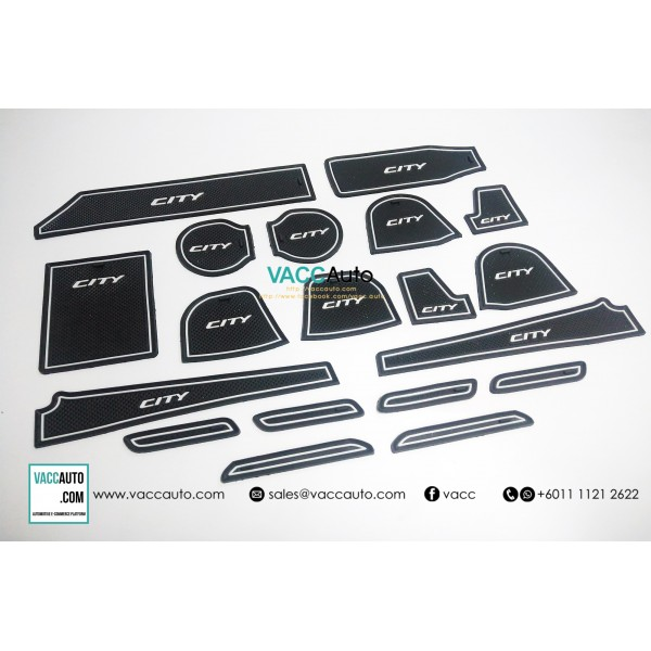 City (6th Gen) Anti Slip Rubber Mat