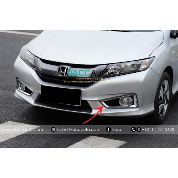 City (6th Gen) Fog Lamp Chrome Cover