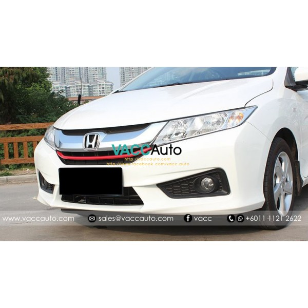 City (6th Gen) Front Grill Red Lining