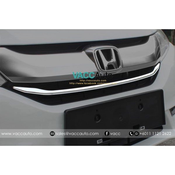 City (6th Gen) Front Grill Chrome Lining