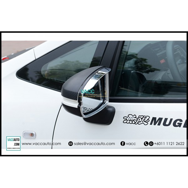 City (6th Gen) Side Mirror Chrome Frame