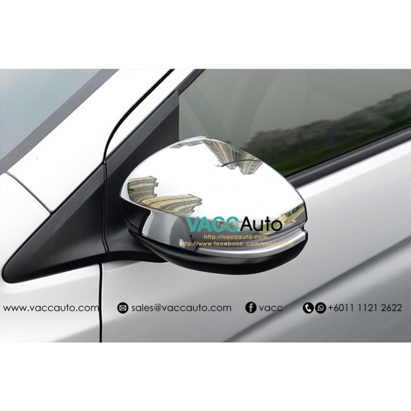 City (6th Gen) Side Mirror Cover - Chrome