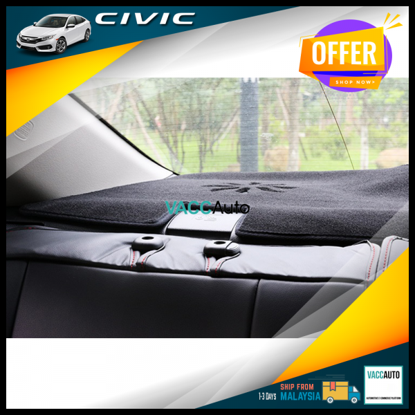 Civic (10th Gen) Rear Dashboard Carpet