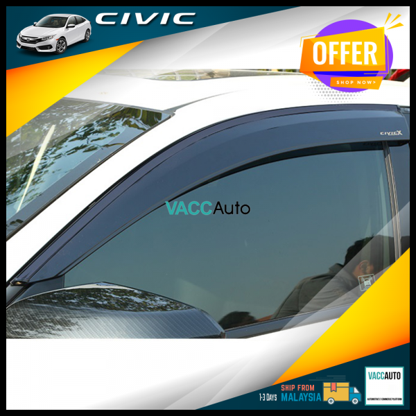 Civic (10th Gen) Door Visor