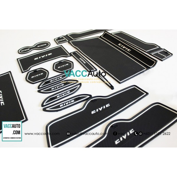 Civic (10th Gen) Anti Slip Rubber Mat