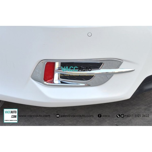 Civic (10th Gen) Rear Reflection Chrome Cover