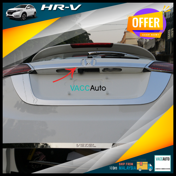 Honda HR-V / HRV / VEZEL Half Chrome Bar Rear Chro...