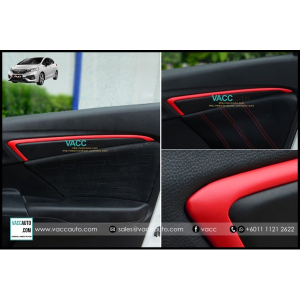 Jazz / Fit (3rd Gen) Door Panel Red Lining
