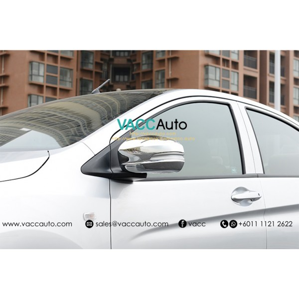 Jazz / Fit (3rd Gen) Side Mirror Chrome Cover