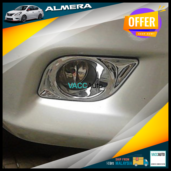 Almera (1st Gen) Fog Lamp Chrome Cover