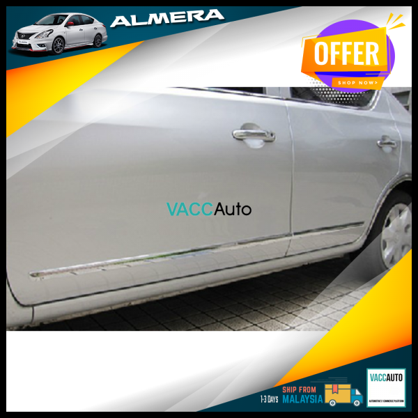 Almera (1st Gen) Door Moulding Chrome