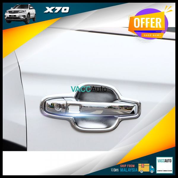 Proton X70 Door Outer Chrome Handle