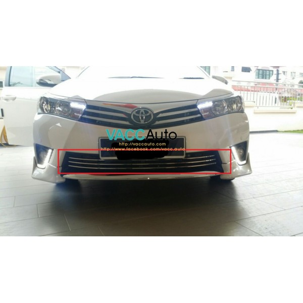 Altis (11th Gen) Front Bumper 3 Chrome Lining