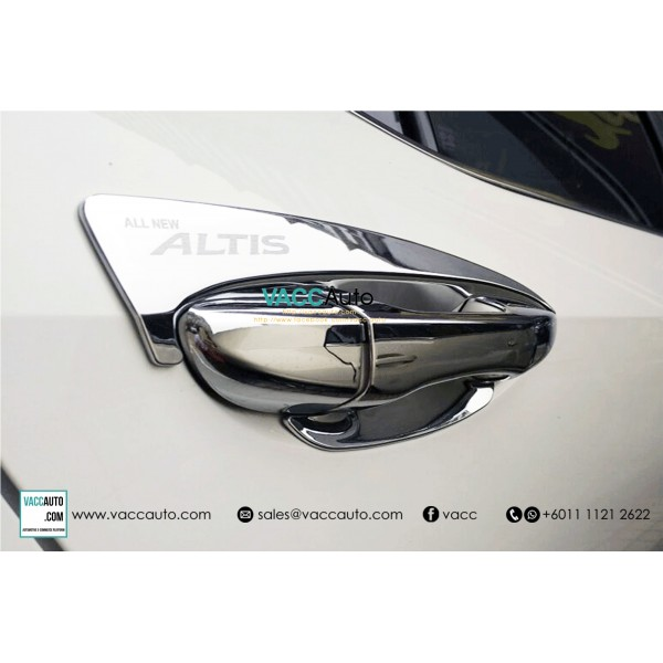 Altis (11th Gen) Outer Chrome Handle (Type B)