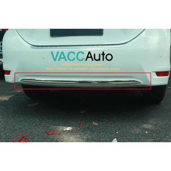 Altis (11th Gen) Rear Bumper Lower Chrome Lining