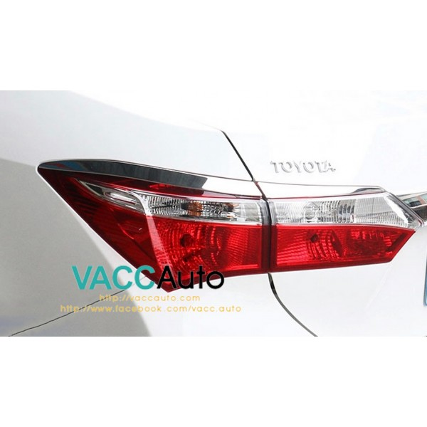 Altis (11th Gen) Tail Lamp Eyelid Chrome
