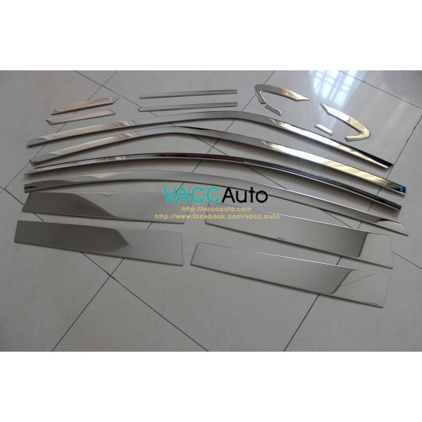 Altis (11th Gen) Window Chrome Lining + Door Pilla...