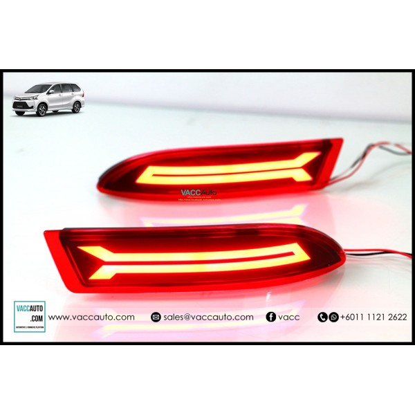 Avanza (2nd Gen) Rear Reflector Lamp