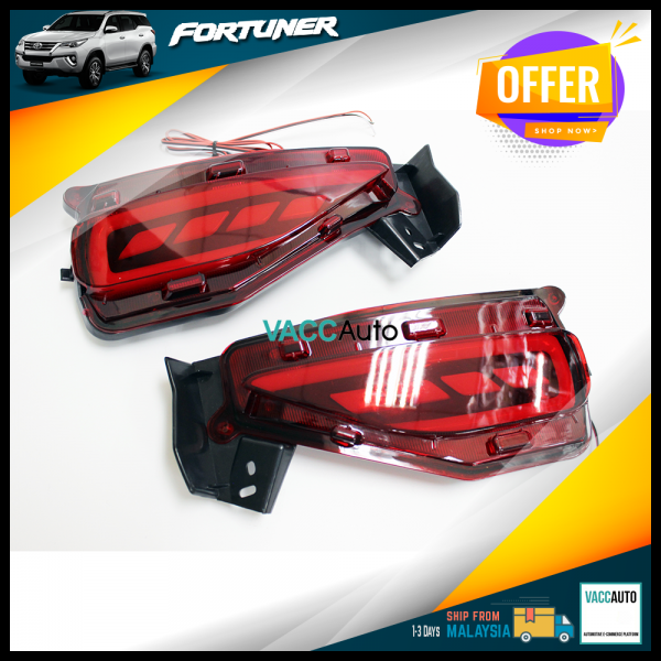 Fortuner (2nd Gen) Rear Reflector Lamp