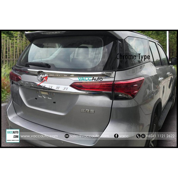 Fortuner (2nd Gen) Rear Bonnet Spoiler