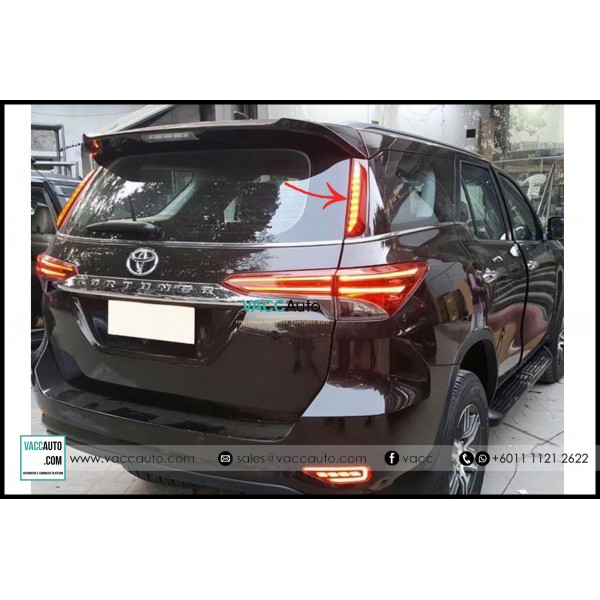 Fortuner (2nd Gen) Rear Pillar Light Bar