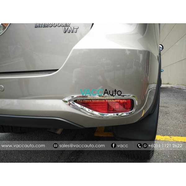 Fortuner (2nd Gen) Rear Reflector Chrome Cover