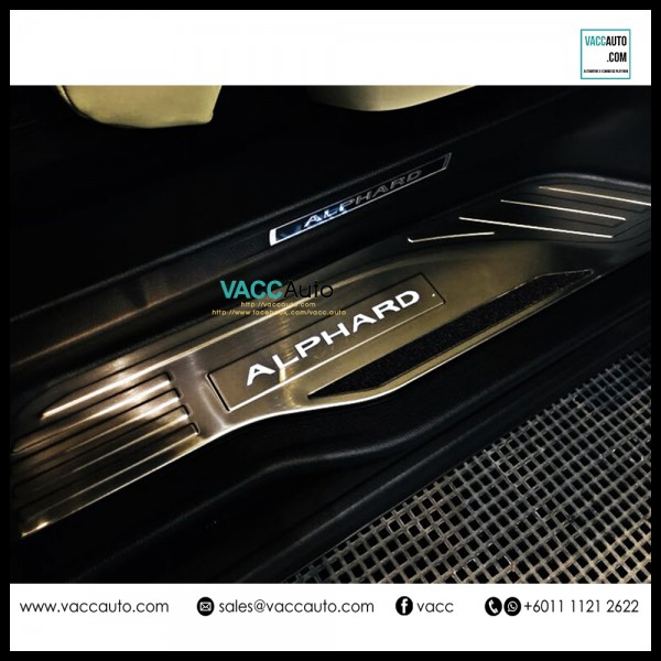 Vellfire / Alphard (AH30) LED Door Step