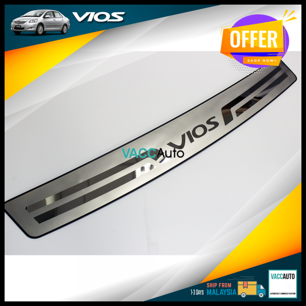 Vios (2nd Gen) Rear Bumper Protector - Out