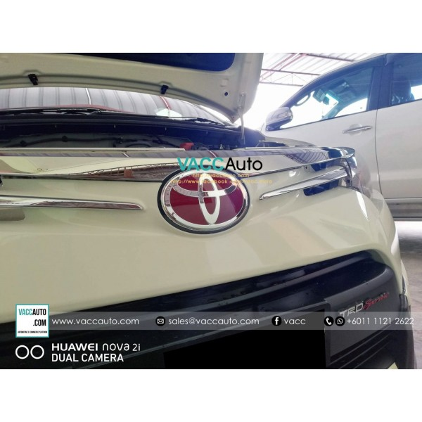 Toyota Red Emblem