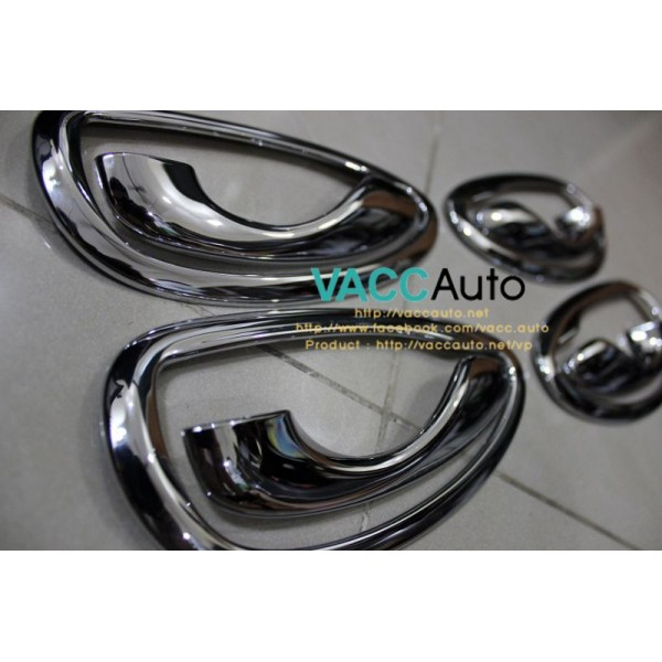 Vios (3rd Gen) Inner Chrome Handle + Ring
