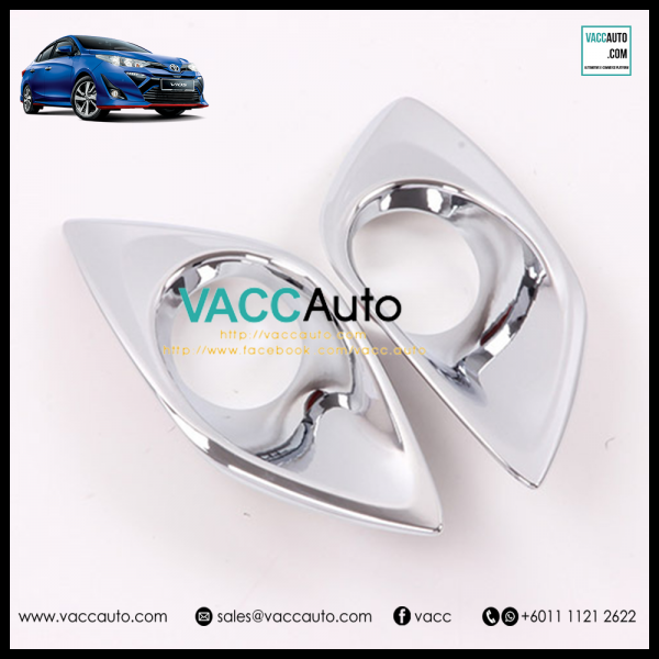 Toyota Vios 2019 Fog Lamp Chrome Cover