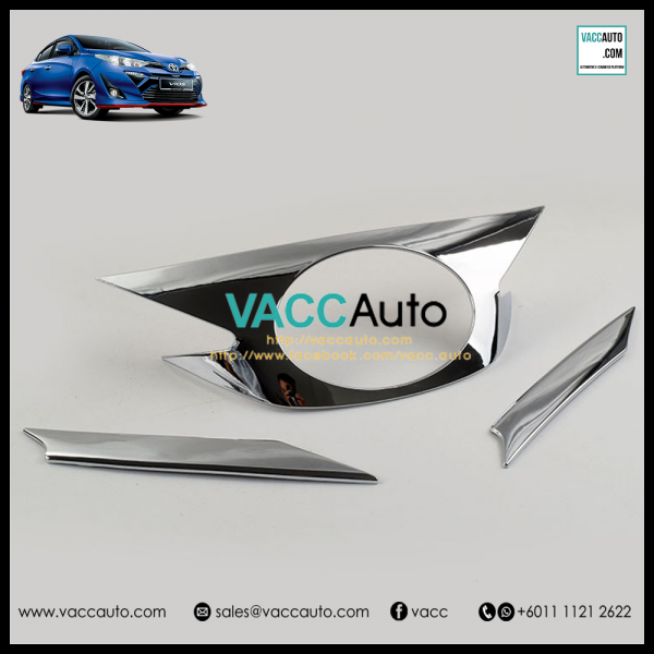 Toyota Vios 2019 Front Grill Chrome Cover