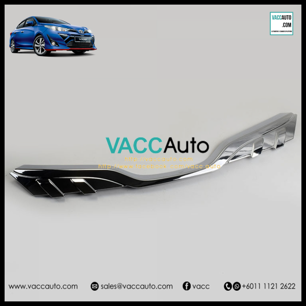 Toyota Vios 2019 Front Grill Chrome Lining