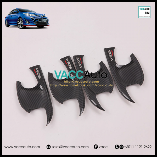 Toyota Vios 2019 Outer Carbon Handle