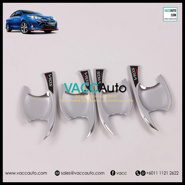 Toyota Vios 2019 Outer Chrome Handle