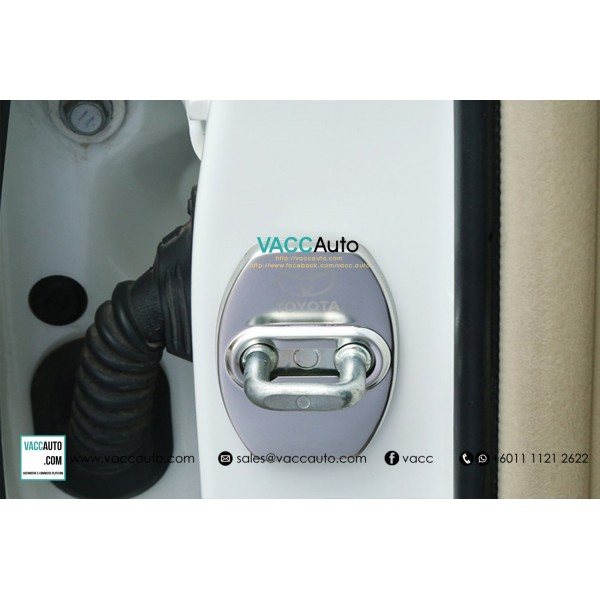 Toyota Door Lock Steel Cover (Type A)