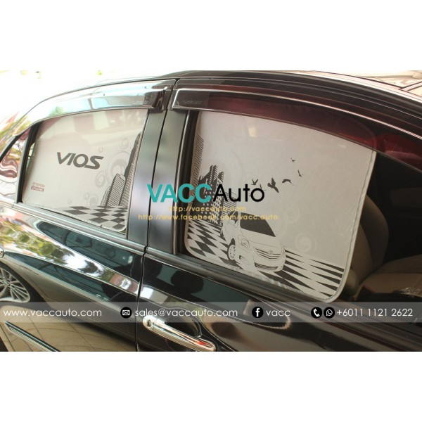 [Original] Vios (2nd Gen) Side Sunshade
