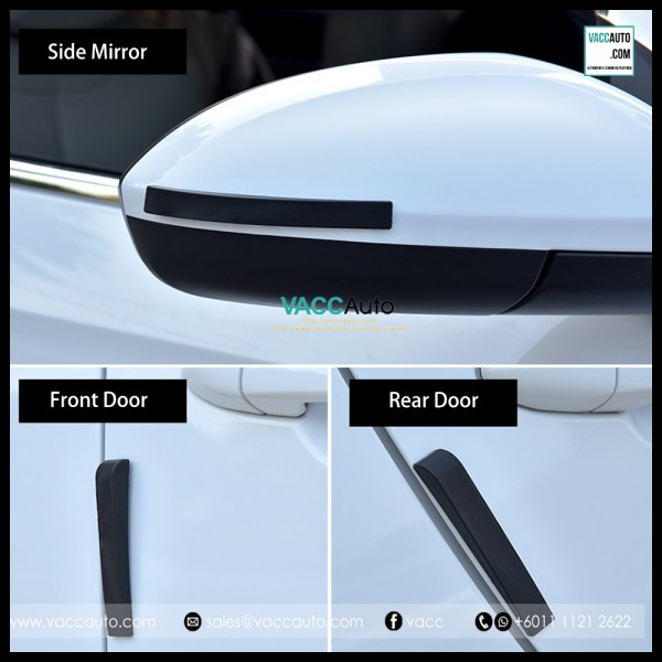 Honda Door & Side Mirror Rubber Protector